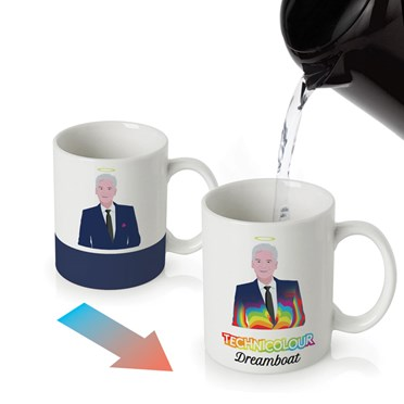Technicolour Dreamboat Colour Changing Mug