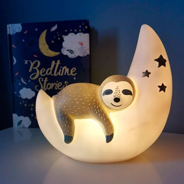 Sleepy Sloth Lamp