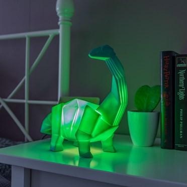 Large Dinosaur Origami Diplodocus Lamp