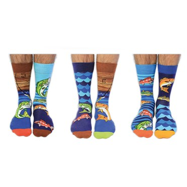 Load of Pollocks Men's Odd Socks