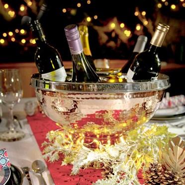 Copper Six Bottle Wine & Champagne Cooler
