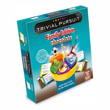 Trivial Pursuit Chocolate Board Game