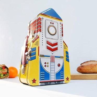 Rocket Shaped Lunch Box