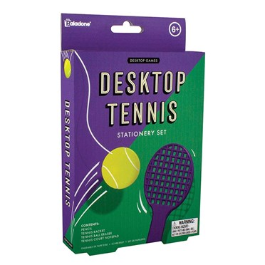 Tennis Mini Stationery and Game