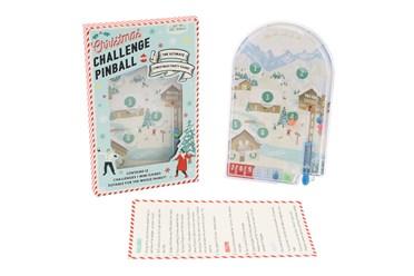 Christmas Pinball Challenge Game