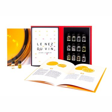 An image of Le Nez Du Vin White Wine 12 Aromas Kit