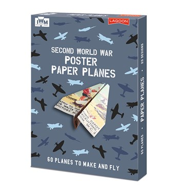 Second World War Poster Paper Planes