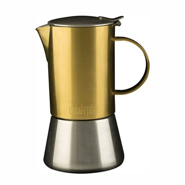 Gold Stove Top Coffee Brewer