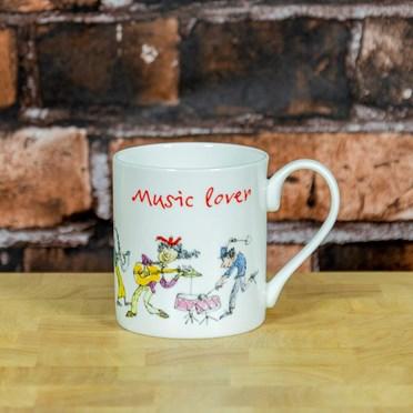 An image of Music Lover Quentin Blake Mug