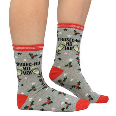 """""""Prosec-Ho Ho Ho!"""" Socks"""