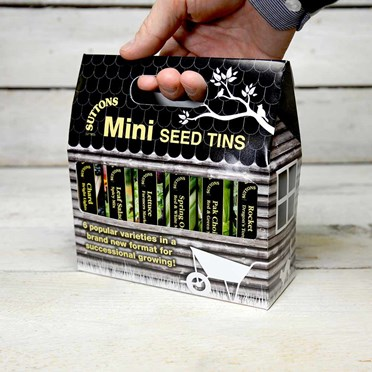 Suttons Mini Seed Tins