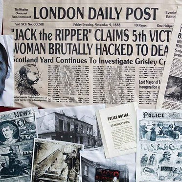 Jack the Ripper Walking Tour for 2