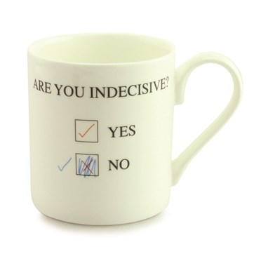 Are You Indecisive? Mug