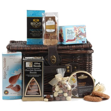 Chocolicious Wicker Hamper