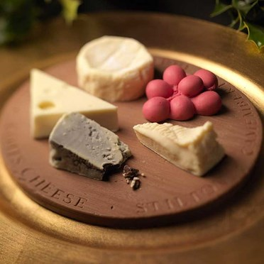 Belgian Chocolate Cheese Board
