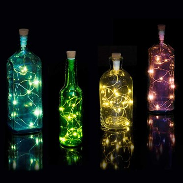 String Bottle Lights
