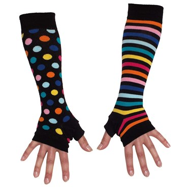 Image of Brightly Coloured Arm Warmers