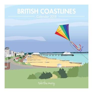 Great British Coastlines Calendar 2018