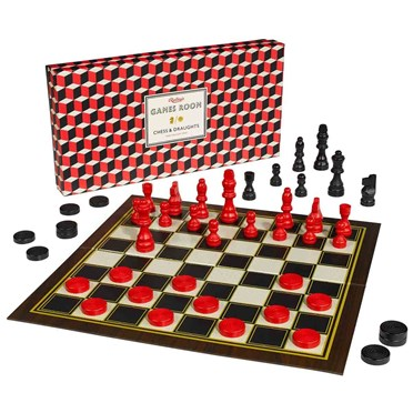Ridley's Chess & Draughts Set