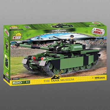 Cobi Chieftain Model Tank - Tank Museum Edition