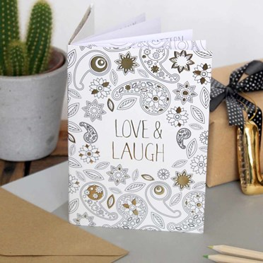 Creative Colouring Greeting Cards