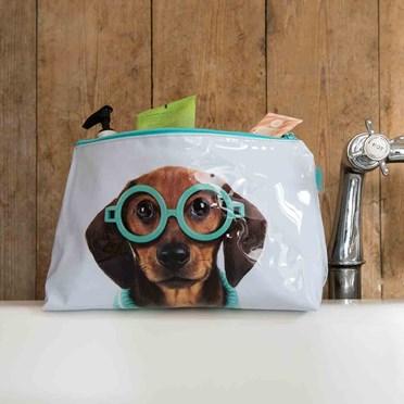 Dachshund Dog Wash Bag