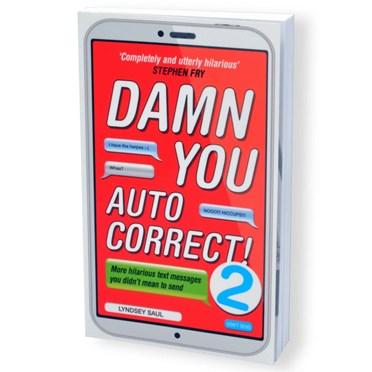 Damn You Auto Correct! Book - New Edition