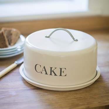 Domed Farmhouse Cake Storage Tin