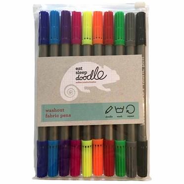 Doodle Wash-out Fabric Pen Set