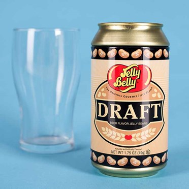 Draught Beer Flavoured Jelly Beans Can