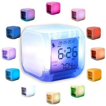 Aurora Touch Cube Clock