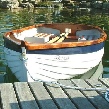 Classic Clinker Rowing Boat