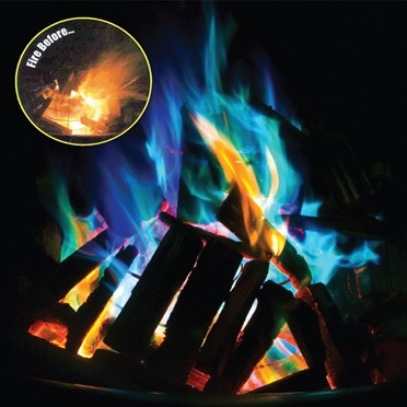 Magic Dust to create Coloured Flames - Mystical Fire