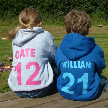 Personalised Hoodie for Children - Quirky Hoody for Children