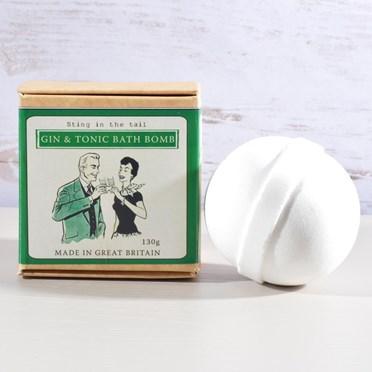 Gin & Tonic Bath Bomb