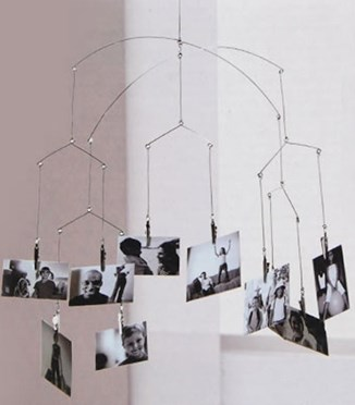Hanging Photo-Clip Mobile
