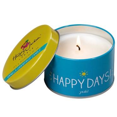 Happy Days Vanilla Grapefruit Candle