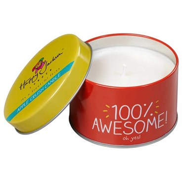 100% Awesome Apple Crush Candle