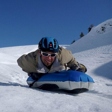 Snow Bodyboard Inflatable Toboggan