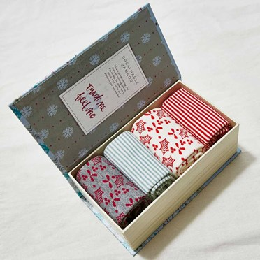 Ladies Bamboo Festive Socks Gift Box