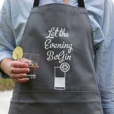 Let the Evening BeGIN Apron