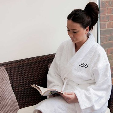 Personalised Egyptian Cotton Towelling Bath Robe