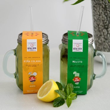 Mason Jar Iced Tea Cocktails