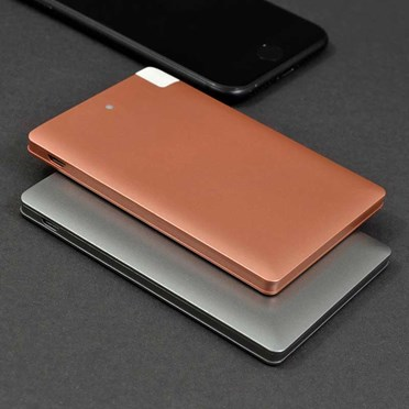 Metallic Ultra Thin Power Bank
