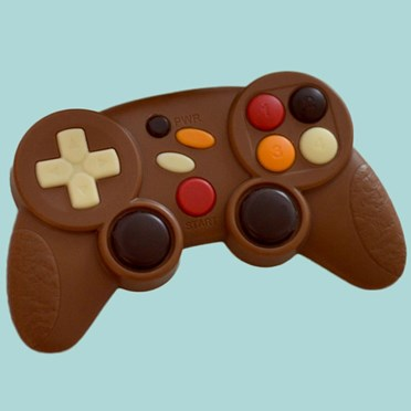 An image of Milk Chocolate Games Controller | A High Scoring Treat