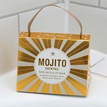 Mojito Lip Balm And Bath Salts Handbag