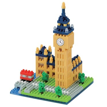 Nanoblock Big Ben Model