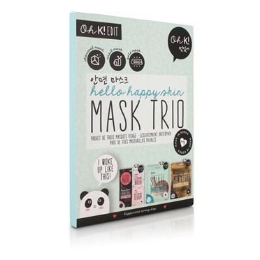 Set of 3 Happy Skin Mask Kits