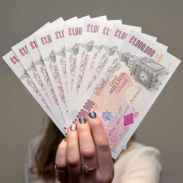 An image of One Million Pound Note | Single Note