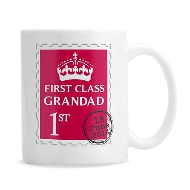 Personalised 1st Class Mug